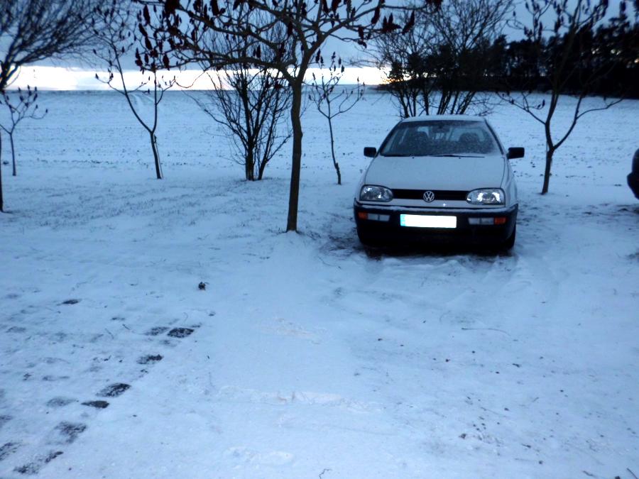 Autofahren im Schnee