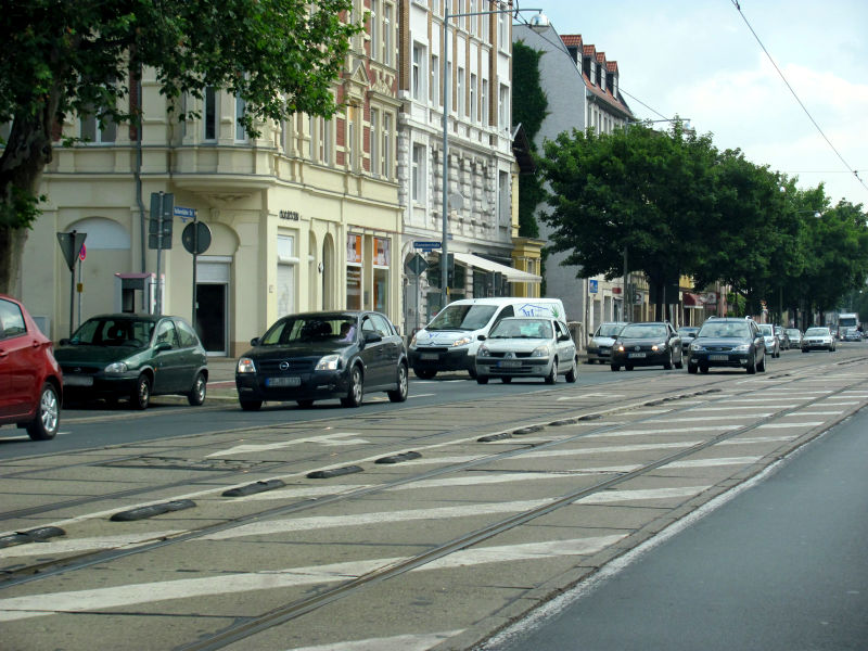 Fahren in der Großstadt