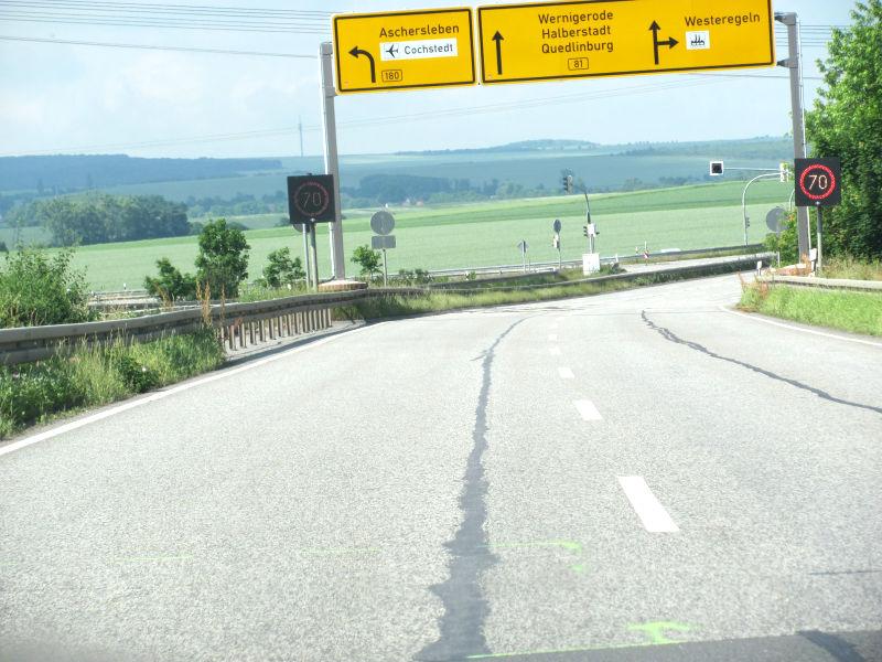 Kreuzung B81 Egeln