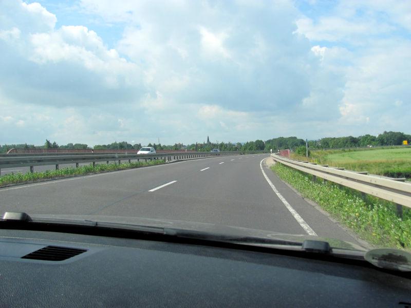 Freie Fahrt Bundesstraße