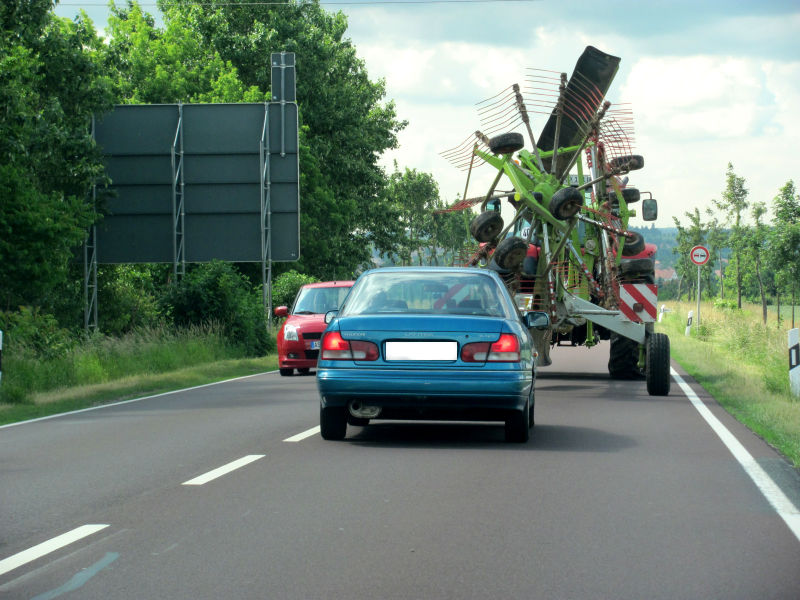 Fehler Traktor überholen