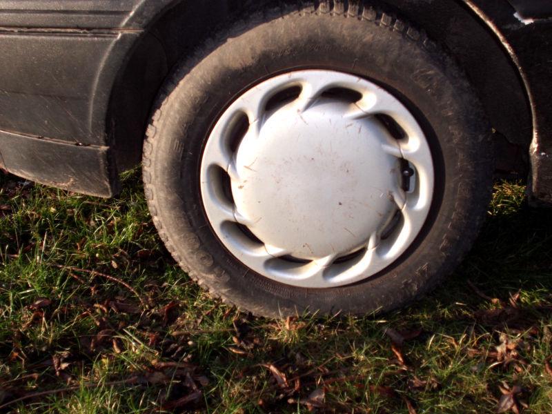 gebrauchte Reifen fahren