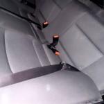 BMW Autositz schmutzig