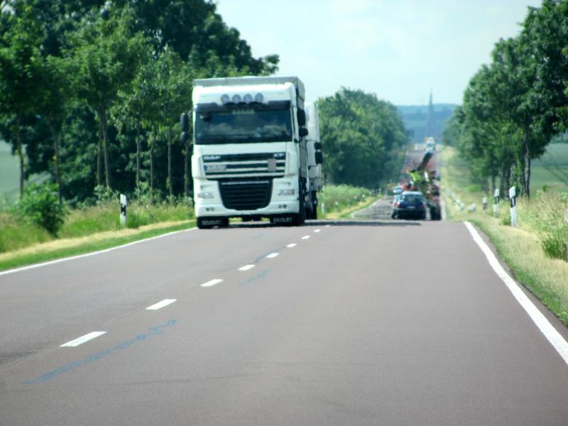 LKW fahren schneller