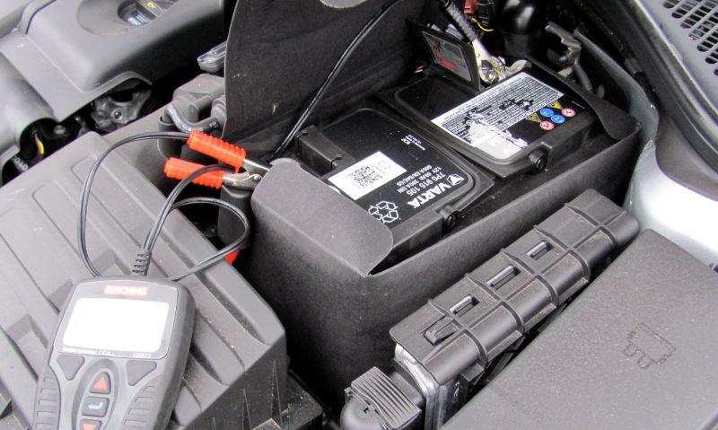 Autobatterie testen