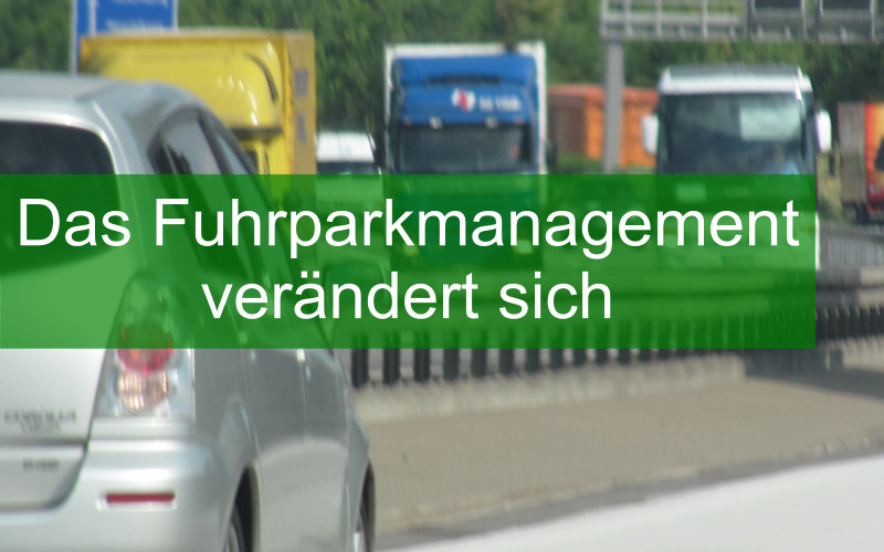Digitales Fuhrparkmanagement